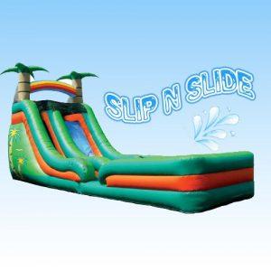 16' Triopical Slide w lane
